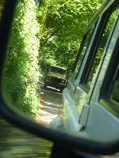 Landrover adventuring over Bodmin Moor