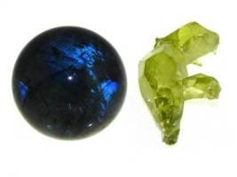 Labradorite (6) and Zincite (4)