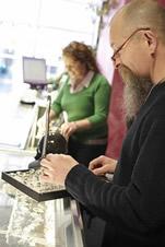 Beth and Graham Holtum at Rainbow Spirit Crystal Shop