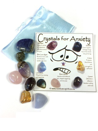 Crystal Set for Anxiety from Crystal Grids & Sets