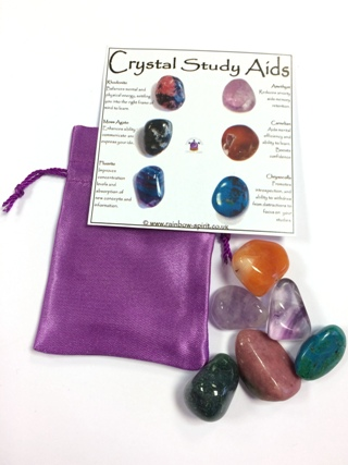 Crystal Study Aids from Crystal Grids & Sets