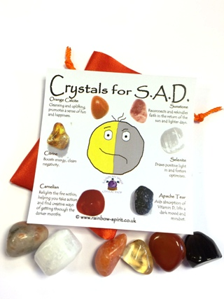 Crystals Set for S.A.D. Seasonal Affected Disorder from Crystal Sets