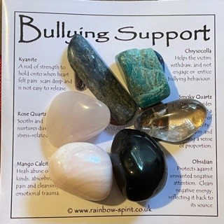 Bullying Support Crystal Set  from Crystal Grids & Sets