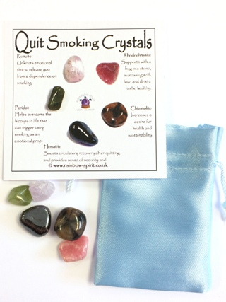 Quit Smoking Crystal Set from Crystal Grids & Sets