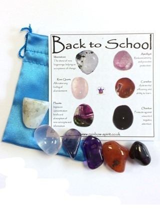 Back to School Crystal Set from Crystal Grids & Sets