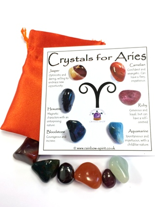 Birthstones for Aries - April from Birthstone Sets