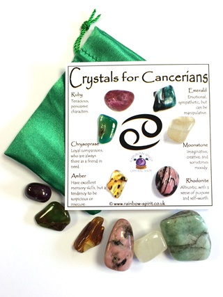 Birthstones for Cancerians - July from Birthstone Sets