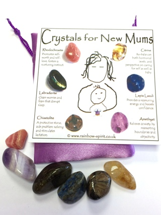 Crystals for New Mums from Crystal Sets