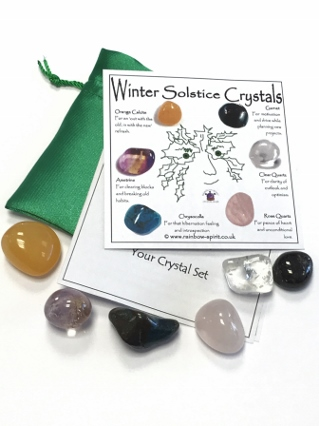 Winter Solstice Crystal Set from Crystal Grids & Sets