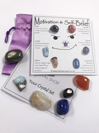 Motivation & Self Belief Crystals from Crystal Sets
