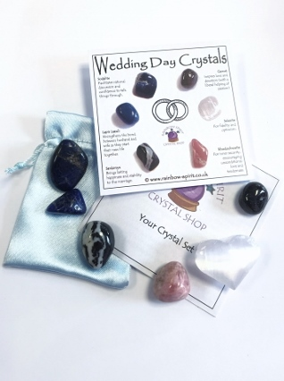 Wedding Day Crystal Set from Crystal Sets