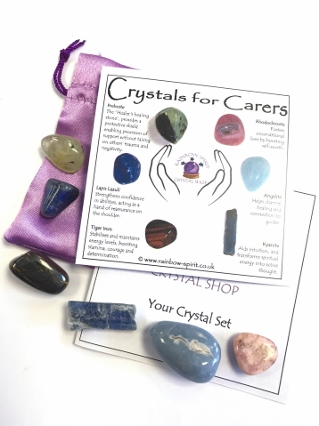 Crystal Set for Carers from Crystal Grids & Sets