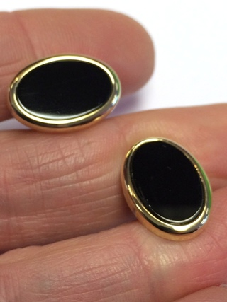 Oval Onyx Cufflinks *40% OFF* from Cufflinks