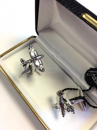 Spitfire Plane Cufflinks *SOLD* from Cufflinks