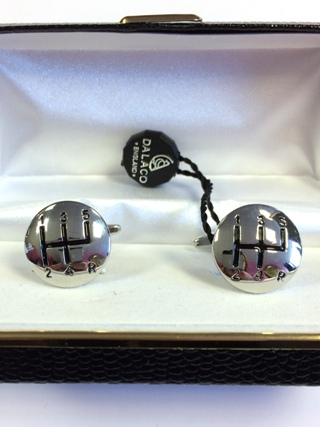 Gear Level Cufflinks from Cufflinks