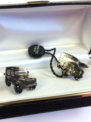 Landrover Defender 90 Cufflinks from Cufflinks