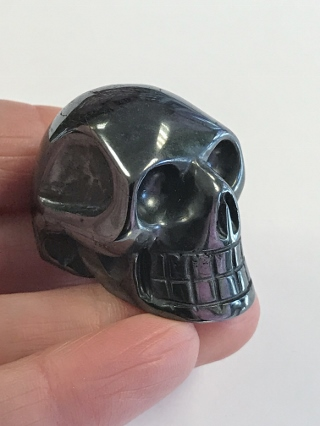 Hematite Crystal Skull from Crystal Skulls