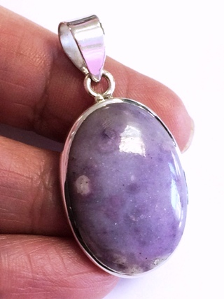 Moredo Opal Pendant from Silver Gemstone Pendants