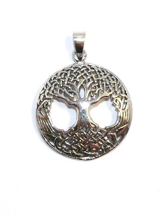 Silver Tree of Life Pendant from Silver Symbolic Jewellery