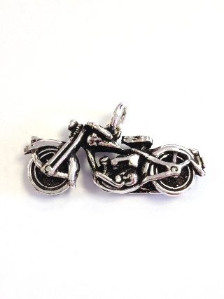 Motorcycle Silver Pendant from Silver Symbolic Jewellery