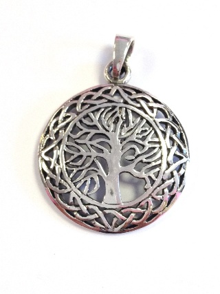 Celtic Tree of Life Pendant *SOLD* from Silver Symbolic Jewellery