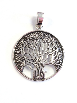 Tree of Life Silver Pendant from Silver Symbolic Jewellery