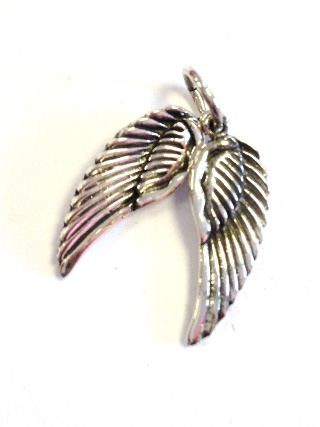 Silver Angel Wings Pendant from Silver Symbolic Jewellery