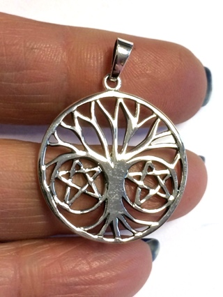 Tree of Life Pendant from Silver Symbolic Jewellery