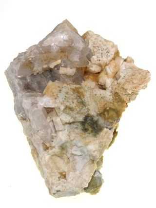 Quartz & Albite from Cornish Crystals & Minerals