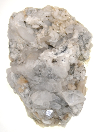 Quartz, Albite & Calcite from Douglas Creba