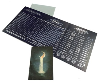 2018 Lunar Wave Calendar Card from Home & Giftware