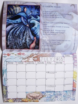 Earth Pathways Wall Calendar 2018 *SOLD OUT* from Home & Giftware