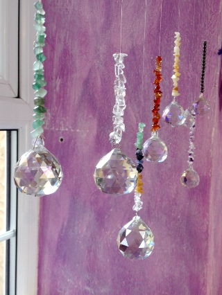Chakra Hanging Window Crystal from Home & Giftware