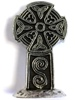 Pewter Cornish Pencarrow Cross