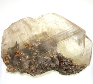 Gypsum Twin Crystal from Crystals from the UK & Ireland