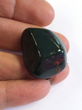 Bloodstone from Tumbled Stones