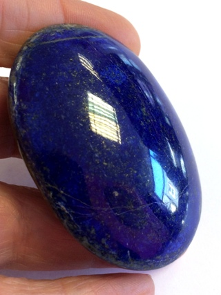 Lapis Lazuli Palm Stone from Helpful Tools