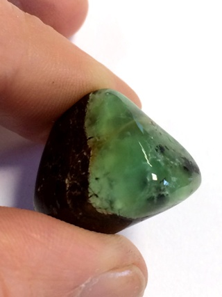 Chrysoprase Tumbled Stone from Tumbled Stones
