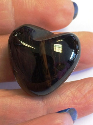 Mahogany Sheen Obsidian from Tumbled Stones