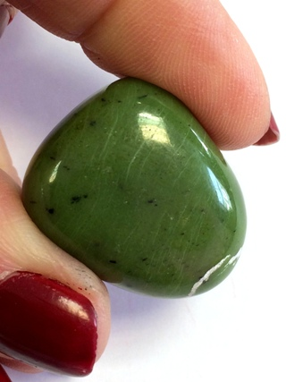 Jade Tumbled Stone from Tumbled Stones
