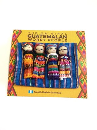 Guatemalan Worry Dolls from Helpful Tools
